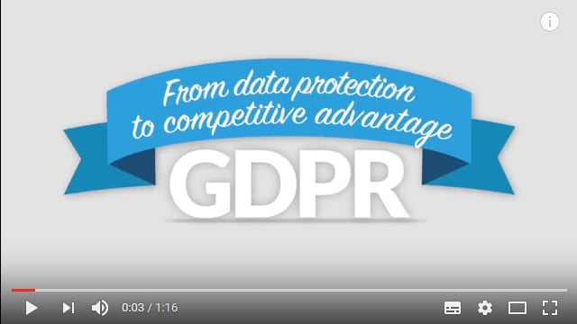 GDPR - From data protection to competitive advantage