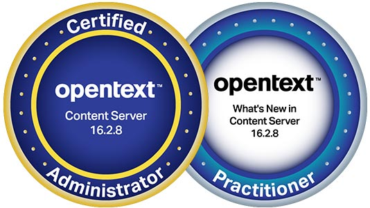 OpenText Digital Badges